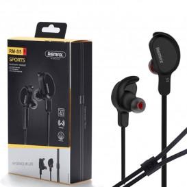 Гарнитура Bluetooth Remax RB-S5 черная (Оригинал)