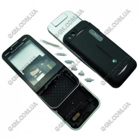 Корпус Sony Ericsson U100 Yari черный (High Copy)