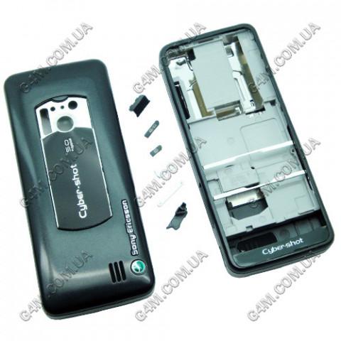 Корпус Sony Ericsson C901 черный (High Copy)