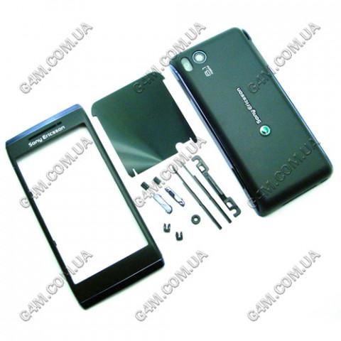 Корпус Sony Ericsson U10 Aino черный (High Copy)