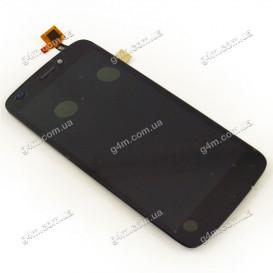 Дисплей Fly IQ4410i Phoenix2 с тачскрином, черный