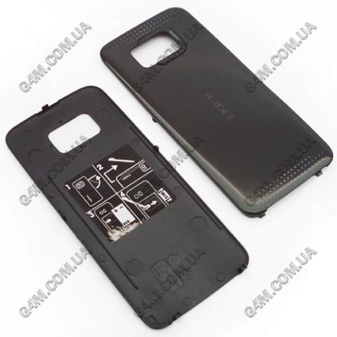 Задняя крышка для Nokia 5530 Xpress Music, черная (High Copy)