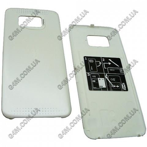 Задняя крышка для Nokia 5530 Xpress Music белая (High Copy)
