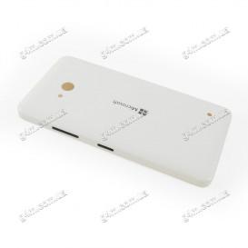 Задняя крышка для Nokia Lumia 640 Dual Sim, RM-1077, RM-1073 (Microsoft) белая