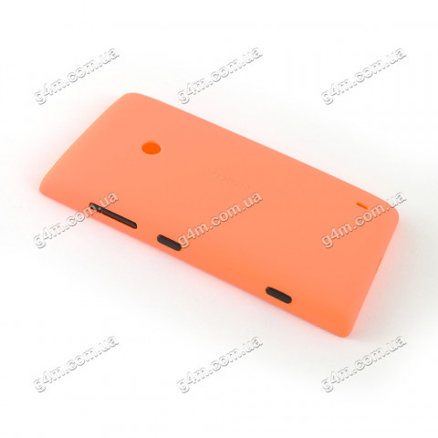 Задняя крышка для Nokia Lumia 520, Lumia 525 оранжевая