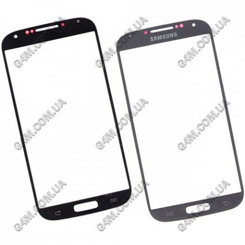 Стекло сенсорного экрана для Samsung i9500, i9505 Galaxy S4 серое