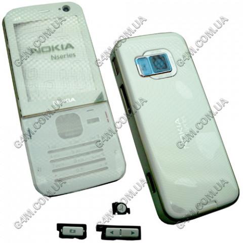Корпус Nokia N78 белый (High Copy)