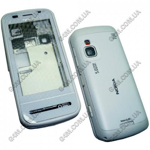 Корпус Nokia C6-00 белый (High Copy)