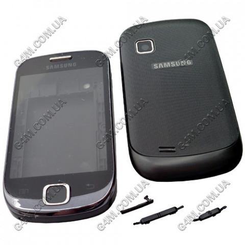 Корпус Samsung S5670 Galaxy Fit чёрный, High Copy