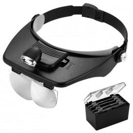 Очки бинокулярные с подсветкой MG81001-A