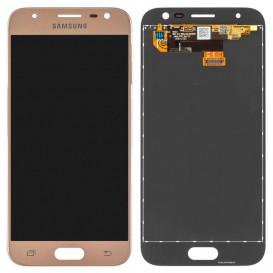 Дисплей Samsung J330 Galaxy J3 (2017 года) с тачскрином, золотистый, копия