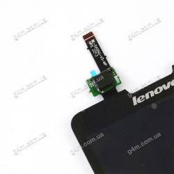 Дисплей Lenovo P780 с тачскрином черный (Оригинал China) V3