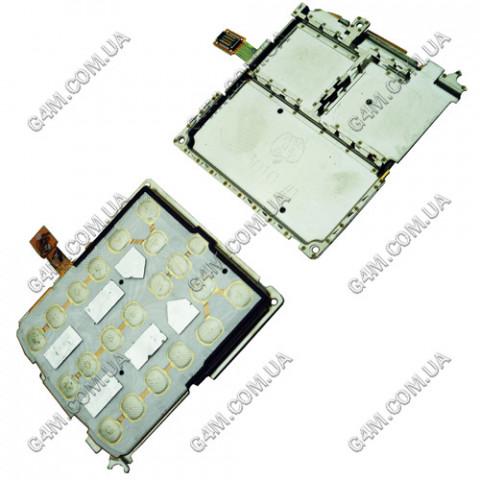 Плата клавиатуры Samsung C3010, C3011 с рамкой, Оригинал