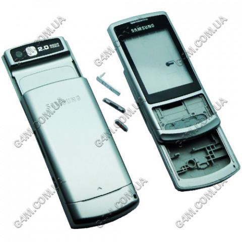Корпус Samsung S3500 серебристый, High Copy