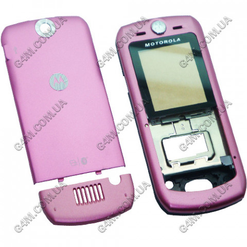 Корпус Motorola L6 пурпурный, High Copy