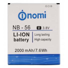 Аккумулятор NB-56 для Nomi i503