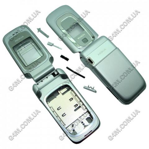 Корпус Nokia 6085 серебристый (High Copy)