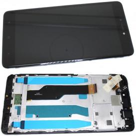 Дисплей Xiaomi Redmi Note 4x с тачскрином и рамкой, черный