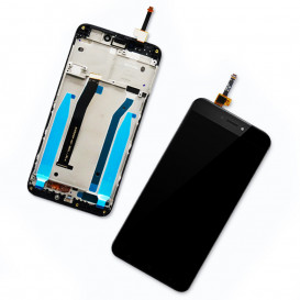 Дисплей Xiaomi Redmi 4x с тачскрином и рамкой, черный