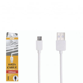 USB дата-кабель Remax  Light Speed RC-006m microUSB белый