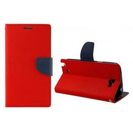 Чехол-книжка Goospery для Meizu M6 Note красного цвета