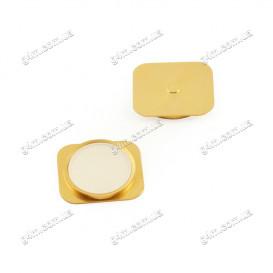 Внешняя кнопка меню для Apple iPhone 5 иммитирующая Apple iPhone 5S золотистая
