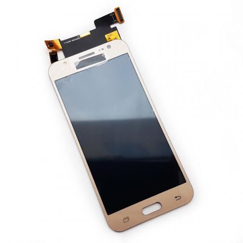 Дисплей Samsung J500F/DS, J500H/DS, J500M/DS Galaxy J5 с тачскрином, золотистый (копия)