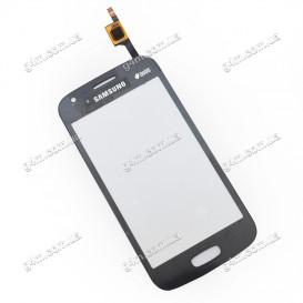 Тачскрин для Samsung S7270, S7272 серый (Оригинал China)