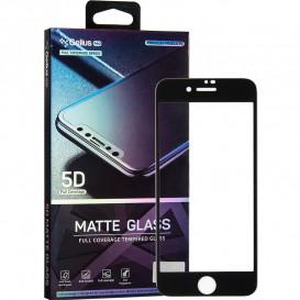 Защитное стекло Gelius Pro Matte Glass для iPhone 7, iPhone 8 (черное 5D стекло)