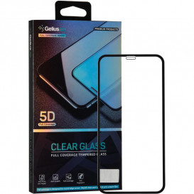 Защитное стекло Gelius Pro Clear Glass для iPhone XR (черное 5D стекло)