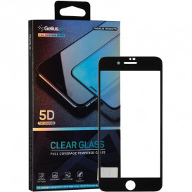 Защитное стекло Gelius Pro Clear Glass для iPhone 7 Plus, iPhone 8 Plus (черное 5D стекло)