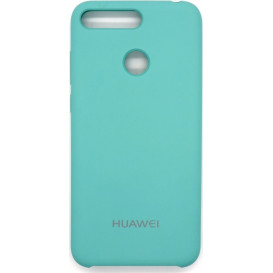 Накладка Original Soft Case для Huawei Y7 Prime (2018 года), Nova 2 Lite (голубого цвета)