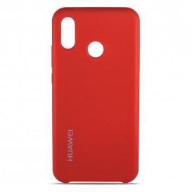 Накладка Original Soft Case для Huawei P20 Lite, Nova 3E (красного цвета)