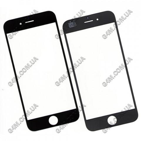 Стекло сенсорного экрана для Apple iPhone 6: 4.7-дюйма, черное
