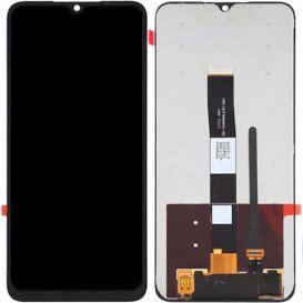 Дисплей Xiaomi Redmi 9a, Redmi 9c с тачскрином, черный