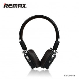 Гарнитура Bluetooth Remax RB-200HB черная (Оригинал)