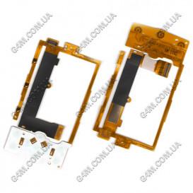 Шлейф Nokia X3-00 c компонентами и клавиатурной платой
