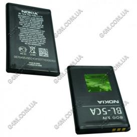 Аккумулятор BL-5CA для Nokia 1110, 1110i, 1112, 1200, 1208, 1209, 1680 classic, X2-00 (High Copy)