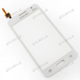Тачскрин для Samsung G355H Galaxy Core 2 Duos, белый (Оригинал)