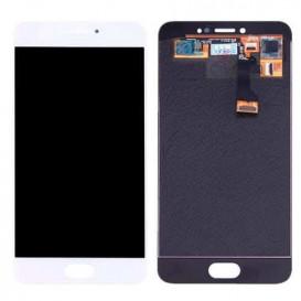 Дисплей Meizu MX5 с тачскрином, белый
