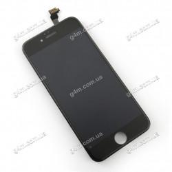 Дисплей Apple iPhone 6 с тачскрином и рамкой, черный