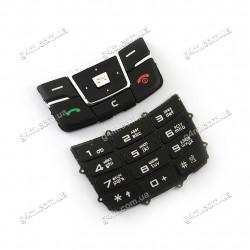 Клавиатура Samsung D880 Duos чёрная, русская, High Copy