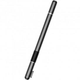 Ручка-стилус 2 в 1 Baseus Golden Cudgel Capacitive Stylus Pen, черный