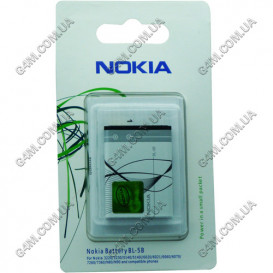 Аккумулятор BL-5B для Nokia N80, N90, 3220, 3230, 5140, 5140i, 5200 Xpress Music, 5300 Xpress Music, 5320 Xpress Music, 5500, 6020, 6021, 6060, 6070, 6080, 6120 classic, 7260, 7360 (High copy)
