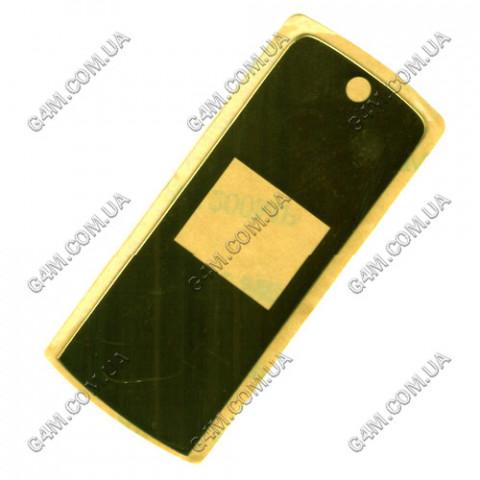 Стекло на корпус Motorola K1 внешнее золотое