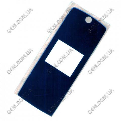 Стекло на корпус Motorola K1 внешнее синее