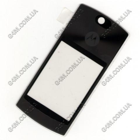 Стекло на корпус Motorola V8, V9. K9 черное