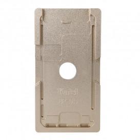 Форма металлическая для установки стекла с рамкой Apple iPhone 8 Plus: 5.5-дюйма (металлическая)