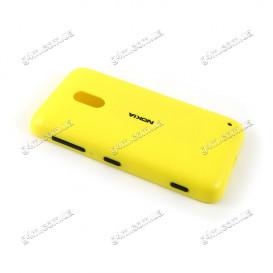 Задняя крышка для Nokia Lumia 620 желтая