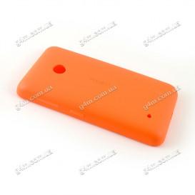 Задняя крышка для Nokia Lumia 530, RM-1019 оранжевая
